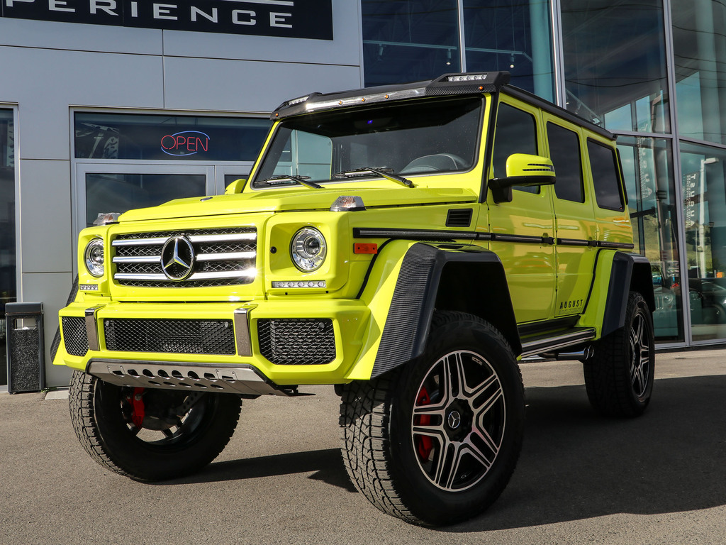 Pre-Owned 2017 Mercedes-Benz G-Class G 550 4x4 Squared