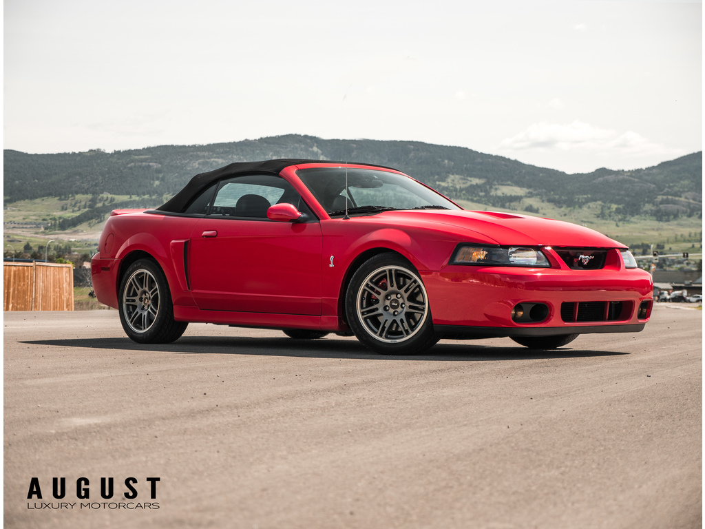 Pre-Owned 2003 Ford Mustang SVT Cobra 10th Anniversary Terminator