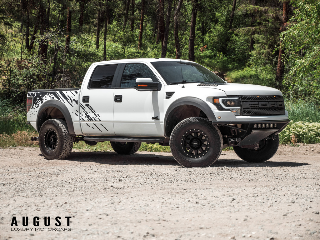 Pre-Owned 2011 Ford F-150 SVT Raptor - Over $10,000 in upgrades