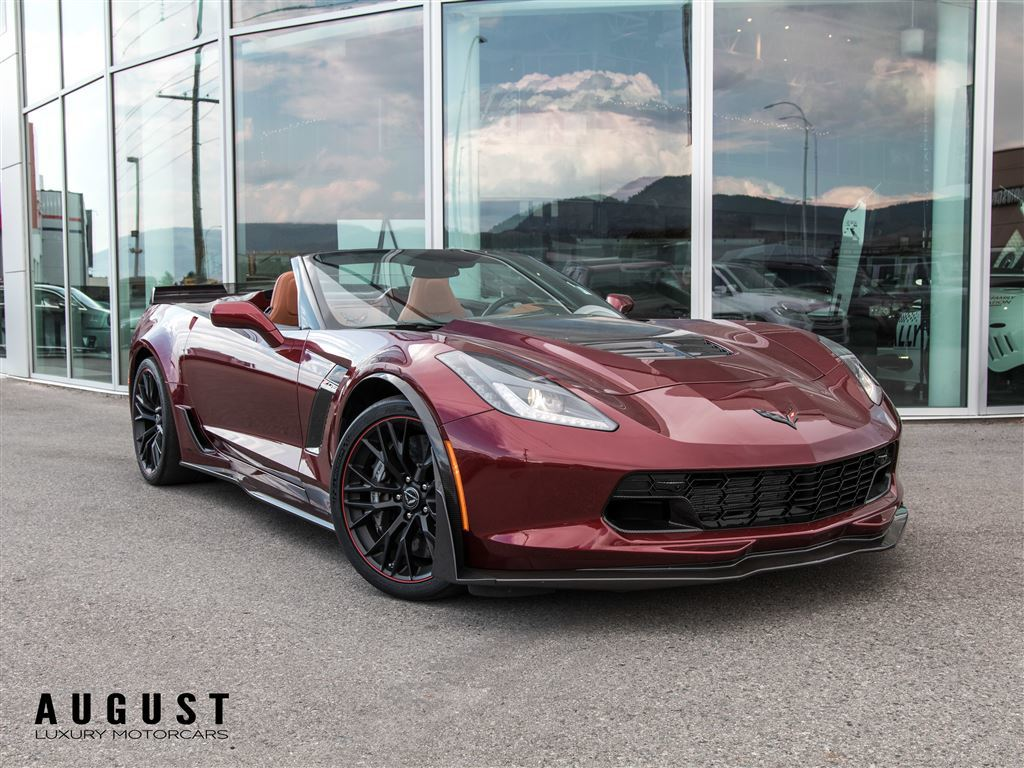 Pre-Owned 2017 Chevrolet Corvette Z06 with Z07 Package