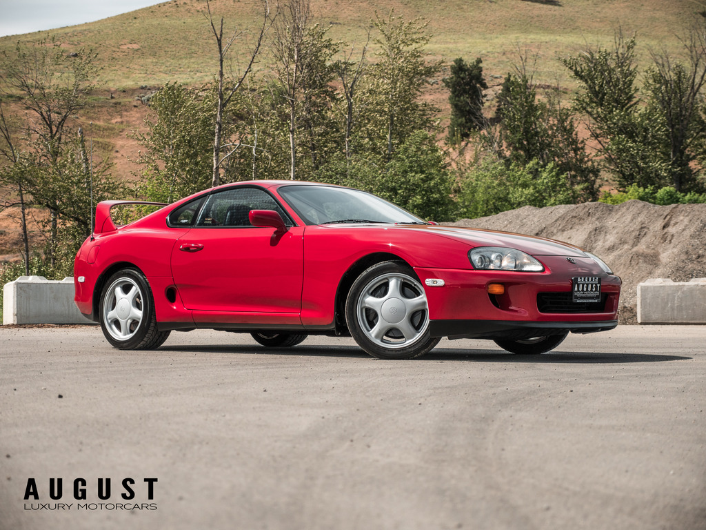 Pre-Owned 1994 Toyota Supra w-Sport Roof