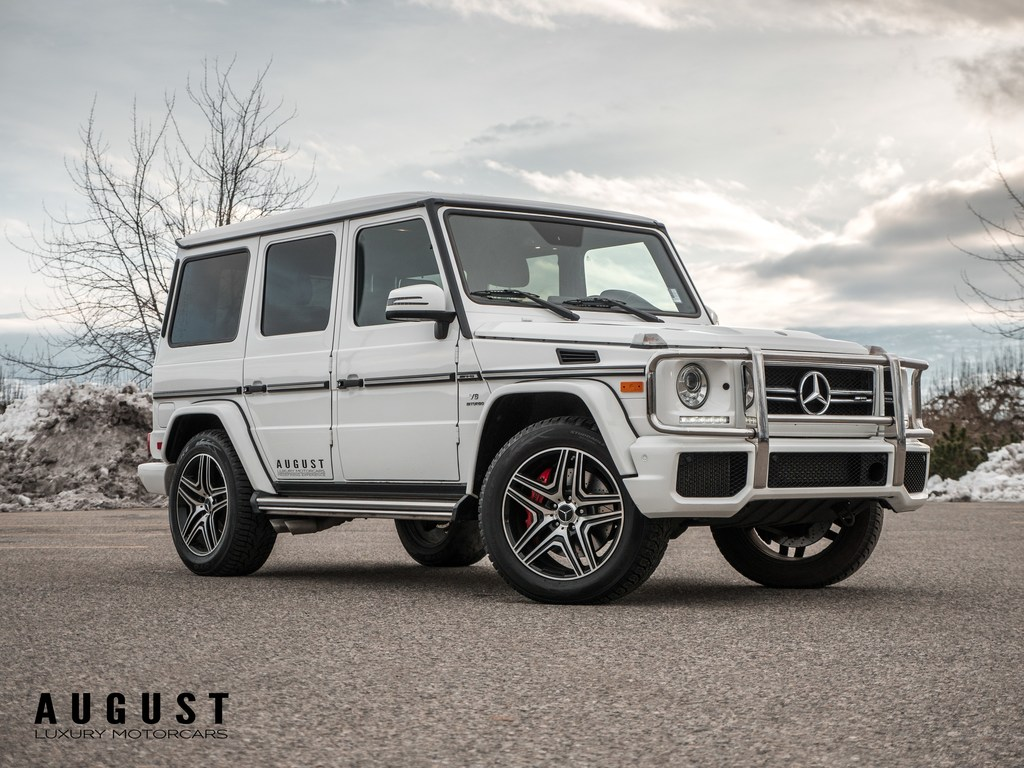 Pre-Owned 2015 Mercedes-Benz G-Class G63 AMG 4MATIC