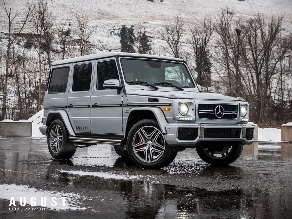 Pre-Owned 2016 Mercedes-Benz G-Class G63 AMG 4MATIC