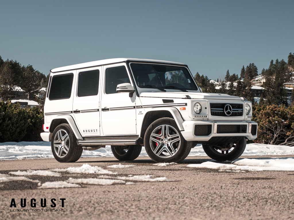 Pre-Owned 2017 Mercedes-Benz G-Class G63 AMG