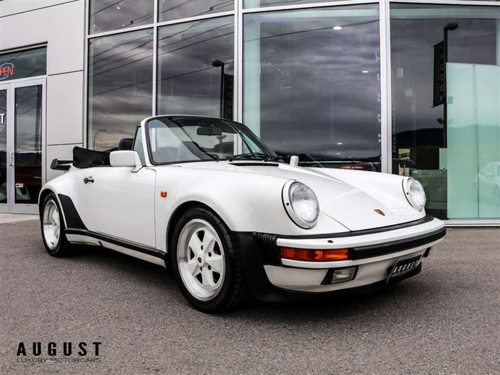 Pre-Owned 1989 Porsche 911 Turbo Cabriolet
