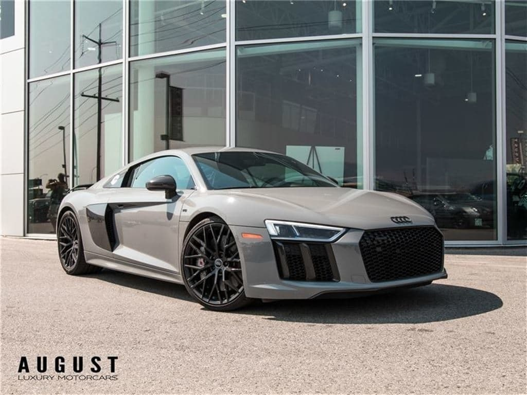 Pre Owned 2017 Audi R8 52 V10 Plus With Velocity Ap Exhaust Full