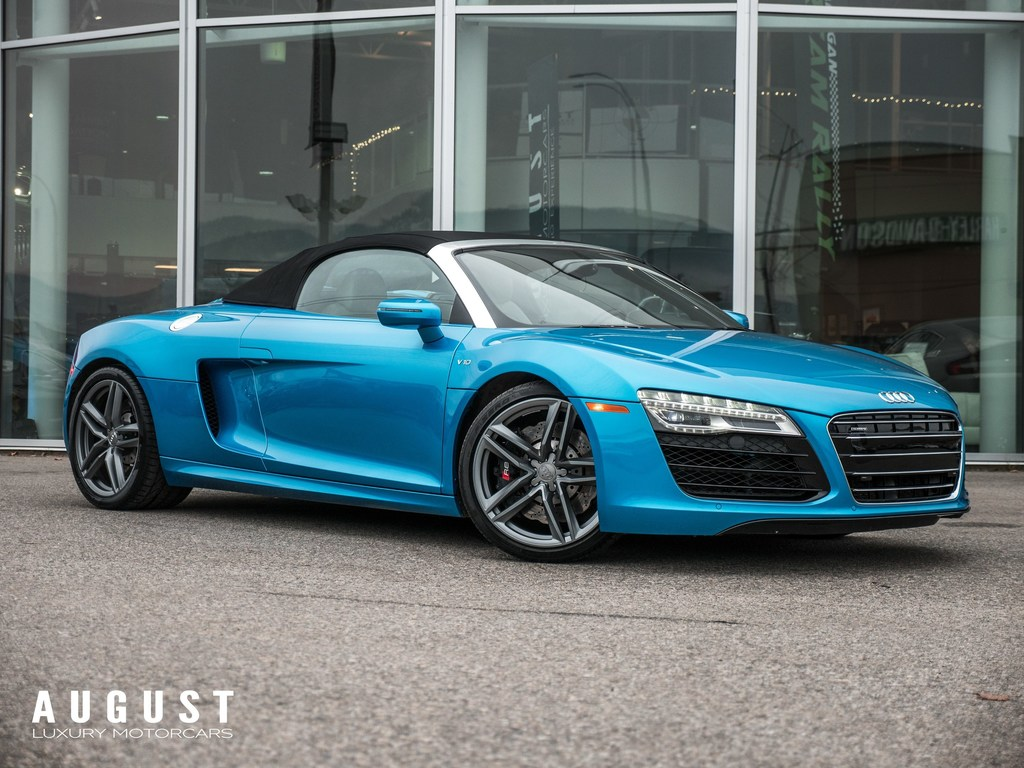 Pre-Owned 2015 Audi R8 5.2 V10 Very Rare Color