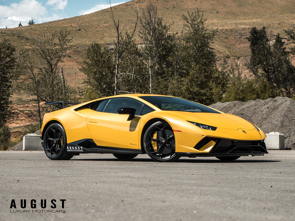 Pre,Owned 2018 Lamborghini Huracan Performante