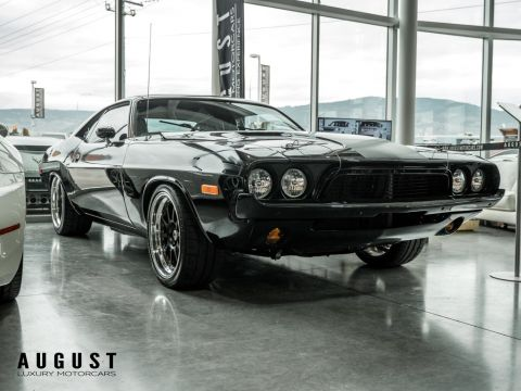 Pre-Owned 1973 Dodge Challenger Custom Restomod with a 392 Hemi Crate Engine