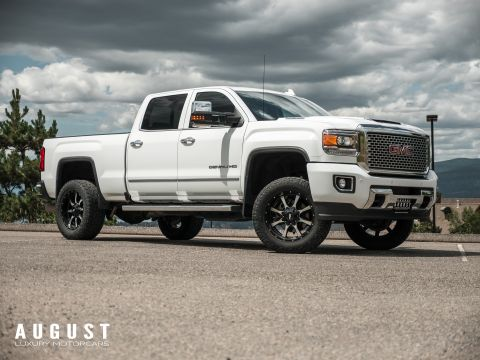 Pre-Owned 2017 GMC Sierra 3500HD Denali Lifted with wheel pkg