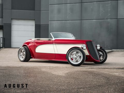 Pre-Owned 1933 Ford Roadster Factory Five Build