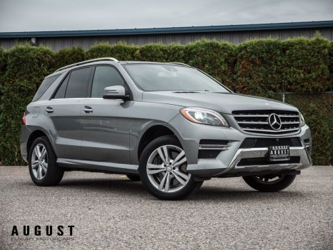 Pre-Owned 2014 Mercedes-Benz M-Class ML350 4MATIC AMG Pkg