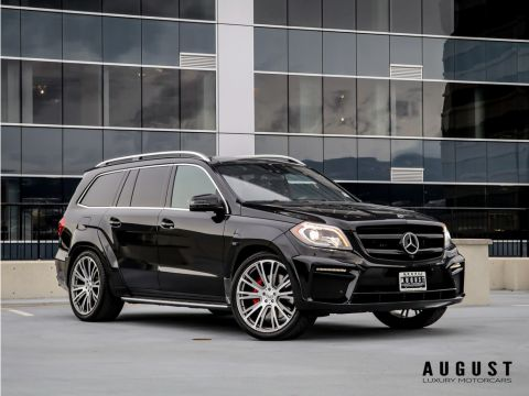 Pre-Owned 2016 Mercedes-Benz GL-Class GL 63 AMG Brabus Edition LOW KILOMETERS!