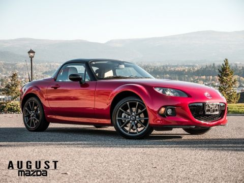 Pre-Owned 2015 Mazda MX-5 GT 25th Anniversary Edition