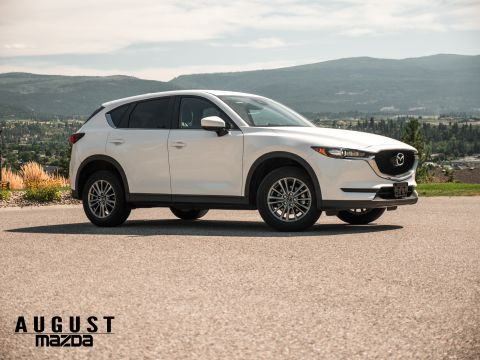Pre-Owned 2017 Mazda CX-5 GS