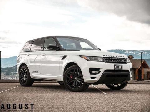Pre-Owned 2017 Land Rover Range Rover Sport Supercharged Autobiography 4x4