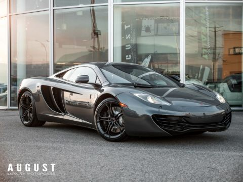 Pre-Owned 2012 McLaren MP4-12C Carbon Fiber Interior Trim 2 Year Warranty Incl