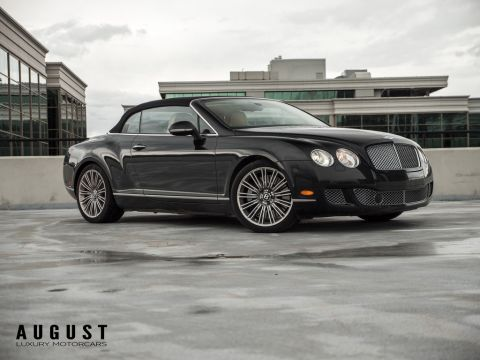 Pre-Owned 2011 Bentley Continental GT Speed W12