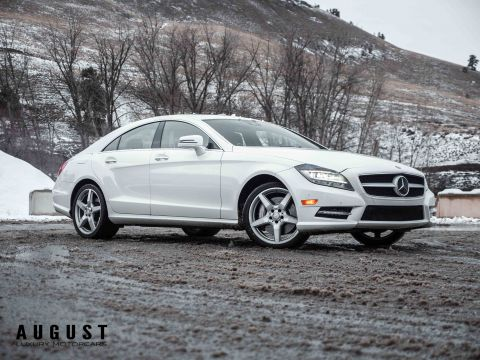 Pre-Owned 2014 Mercedes-Benz CLS CLS 550 4MATIC