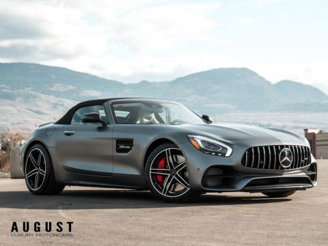 Pre-Owned 2018 Mercedes-Benz AMG GT C Roadster