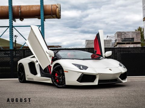 Pre-Owned 2014 Lamborghini Aventador LP-700-4 Roadster